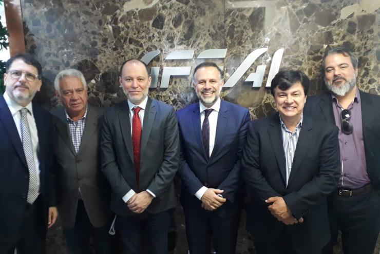 AFEAL e ABAL recebem Inmetro para apresentação de novo modelo regulatório