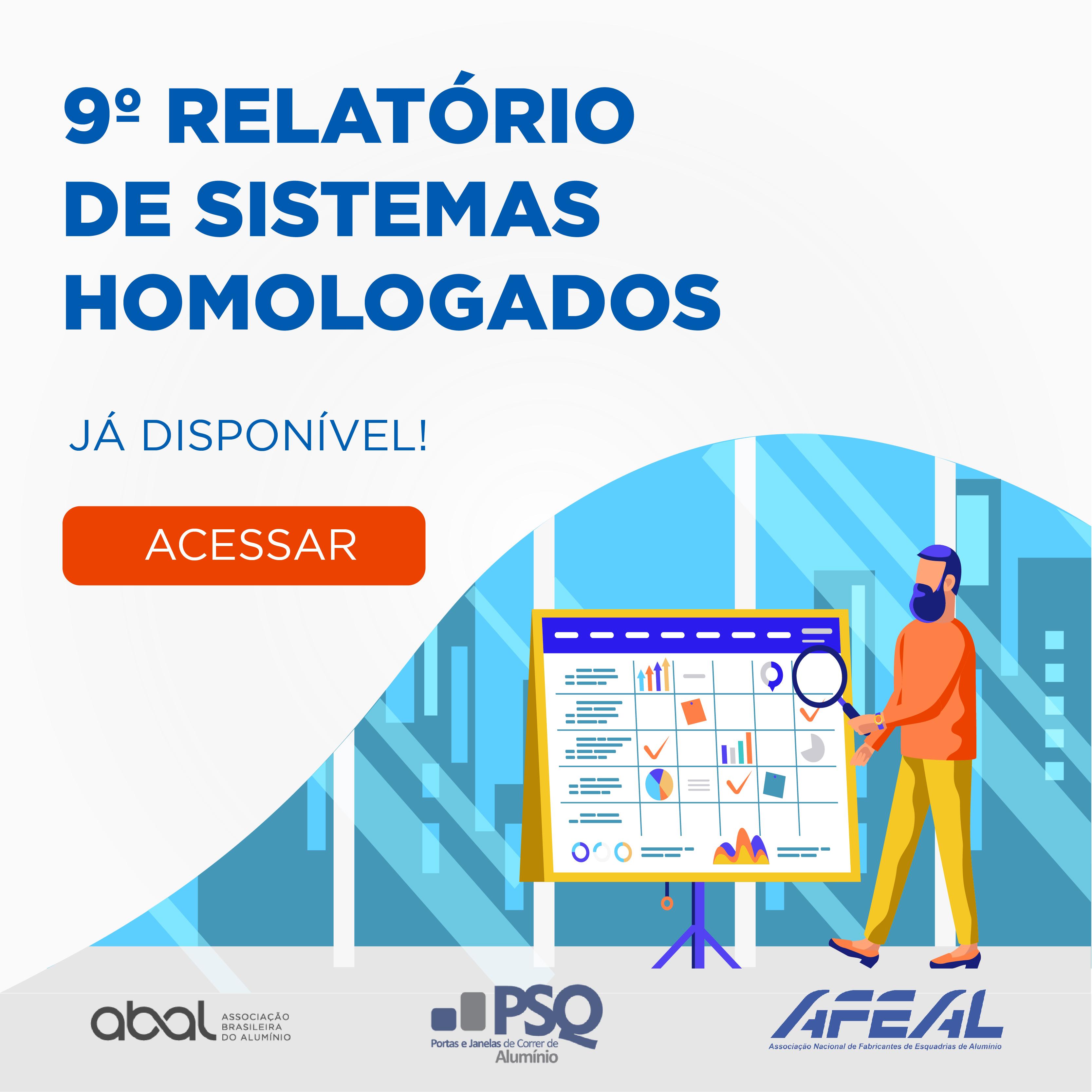 PSQ disponibiliza novo relatório de sistemas homologados